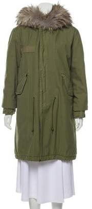 Mr & Mrs Italy Hooded Lapin Lined Parka