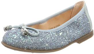 Unisa Girls' Sasha_18_PUR Closed Toe Ballet Flats,Child 12.5 UK