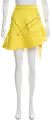 David Koma Knee-Length Wrap Skirt