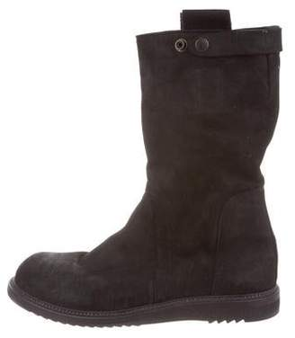 8203735b093f Rick Owens Black Round Toe Men s Shoes