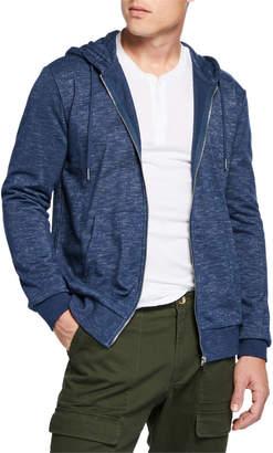 Slate & Stone Men's Zip-Up Hoodie Sweatshirt, Blue