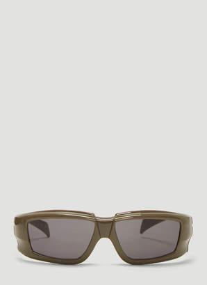 Rick Owens Larry Sunglasses in Grey
