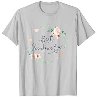 Best Grandma Ever Boho Chic Bohemian Flair T-Shirt