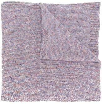 YMC speckled knit scarf