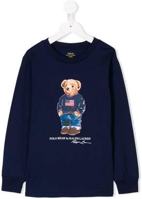 Ralph Lauren Kids Polo Bear sweatshirt
