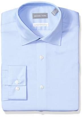 "Michael Kors Men's Slim Fit Dress Shirt -, 16"" Neck 34""-35"" Sleeve"