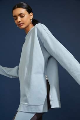 AVEC LES FILLES Side Zip Sweatshirt