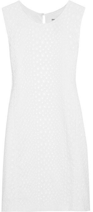 Issa Broderie anglaise cotton dress