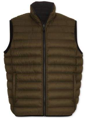 Hawke & Co Outfitters Men's Big & Tall Reversible Puffer Vest