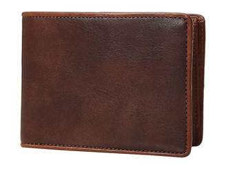 Bosca Dolce Contrast Credit Wallet with Passcase