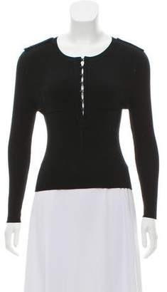 Kaufman Franco KAUFMANFRANCO Ribbed Silk Sweater