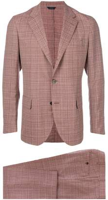 Tombolini plaid two-piece suit