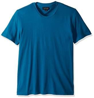 Velvet by Graham & Spencer Men's Velvet Howard Short Sleeve Crew-Neck Shirt