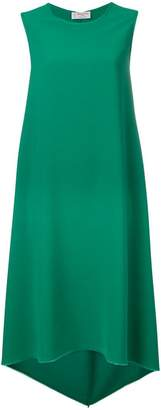 Alberto Biani asymmetric midi dress