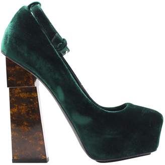 a0f6b404141 Green Velvet Shoes - ShopStyle UK