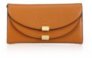 Chloé Chloe Georgia Leather Continental Wallet