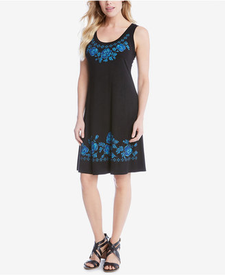 Karen Kane Printed Shift Dress $98 thestylecure.com