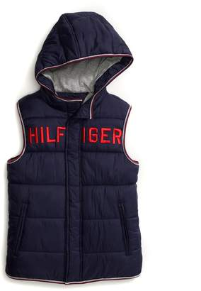Tommy Hilfiger Hooded Puffer Vest