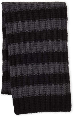 Nautica Striped Chunky Knit Scarf