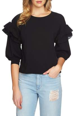 1 STATE 1.STATE Ruffle Pullover