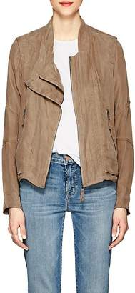 Blank NYC Blanknyc Women's Asymmetric Twill Jacket