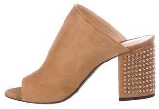 Barbara Bui Studded Slide Sandals