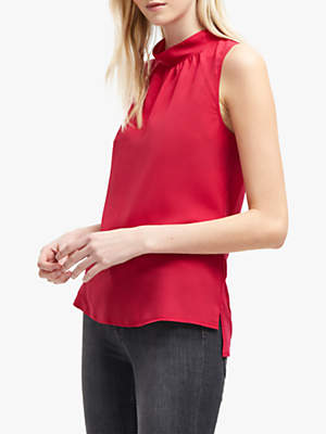 French Connection Jersey Sleeveless Top, Mimosa