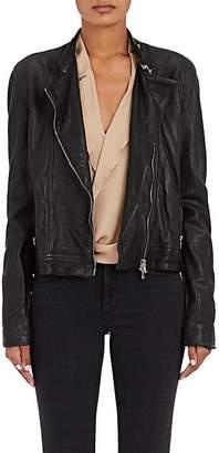 L'Agence Women's Devon Leather Moto Jacket
