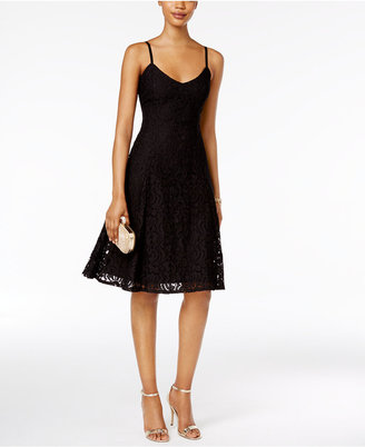Ronni Nicole Lace A-Line Slip Dress $79 thestylecure.com