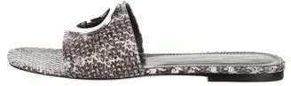 Proenza Schouler Snakeskin Slide Sandals w/ Tags