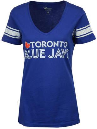 G-iii Sports Women's Toronto Blue Jays Glitter Baseball T-Shirt