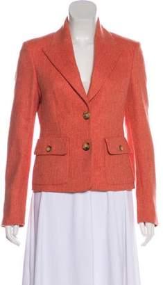 Michael Kors Wool Herringbone Jacket