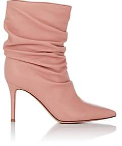 8d9a7571a0d5 ... Gianvito Rossi Women s Cecile Leather Ankle Boots - Pink