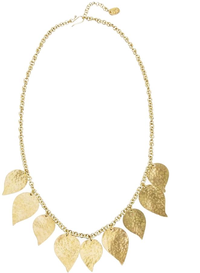 People Tree Leaf Necklace
