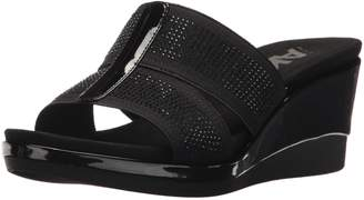 AK Anne Klein Sport Women's Pallace Wedge Sandal Pump