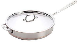 All-Clad 6 Quart Saute Pan With Lid Copper-Core