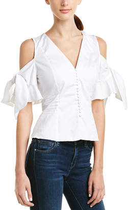 Do & Be DO+BE Do+Be Cold-Shoulder Top