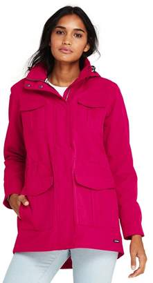 Lands' End Red Lightweight Squall Coat
