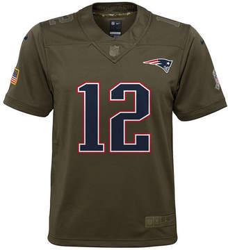 Nike Tom Brady New England Patriots Salute To Service Jersey, Big Boys (8-20)