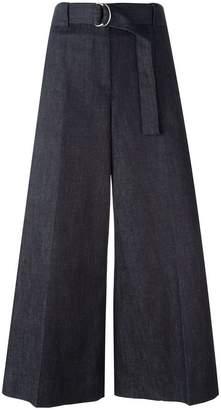 Maison Margiela wide-legged cropped trousers