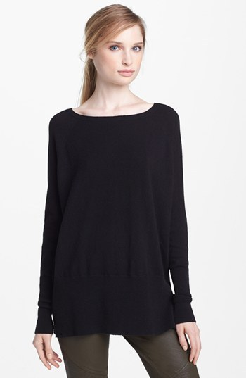 Vince 'Square' Raglan Cashmere Sweater