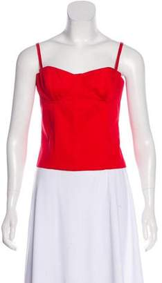 Alice + Olivia Sleeveless Bustier Top w/ Tags