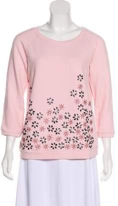 Max Mara Weekend Embellished Long Sleeve Sweatshirt