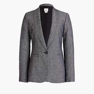 J.Crew One-button linen blazer
