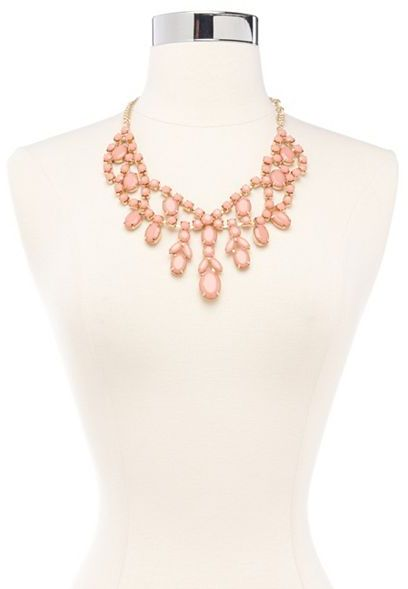 Charlotte Russe Pretty Princess Statement Necklace