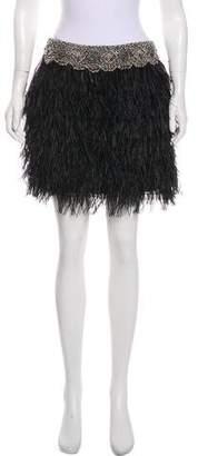 Adam Embellished Mini Skirt w/ Tags