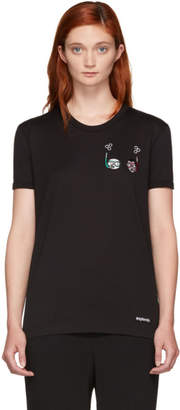 Dolce & Gabbana Black Scuba DGFamily T-Shirt