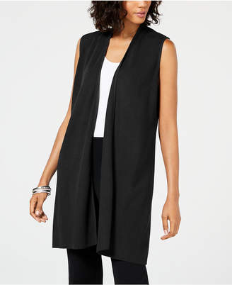 Alfani Petite Open-Front Vest, Created for Macy's