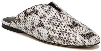 Diane von Furstenberg Octavia Genuine Snakeskin Mule