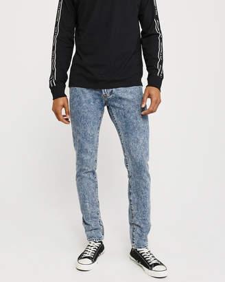 Abercrombie & Fitch Super Skinny Acid Wash Jeans